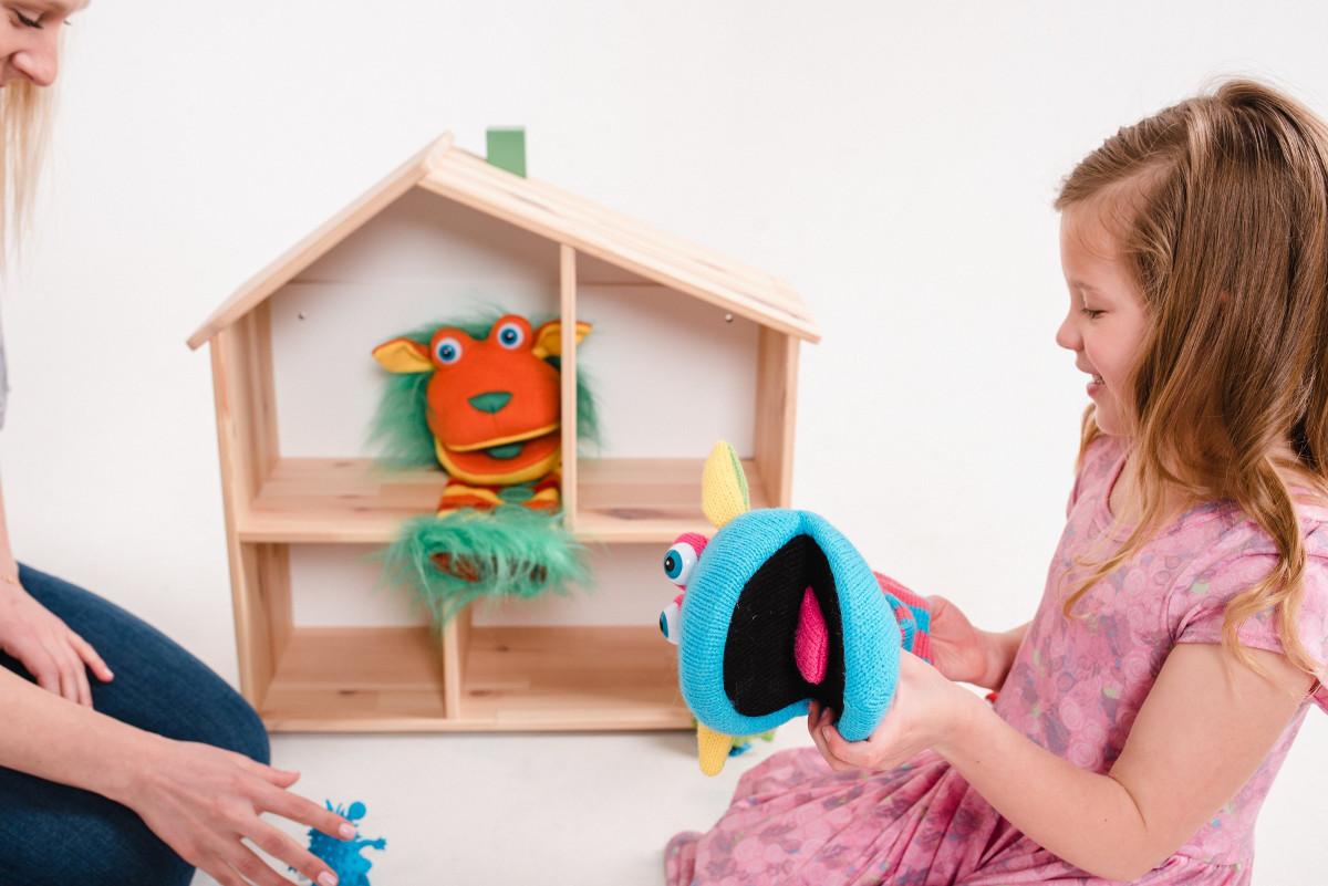 Kukla ve Öykülerle Çocuk Terapisi